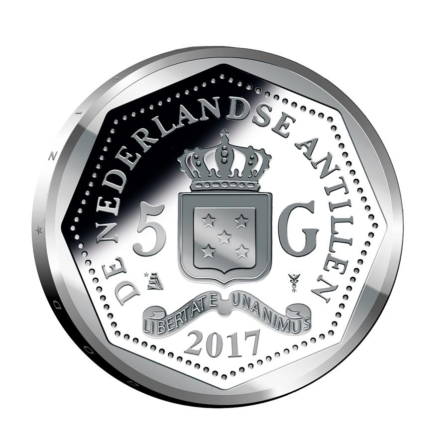 5 gulden 2017 verjaardagsmunt koning willem alexander for Gulden interieur b v