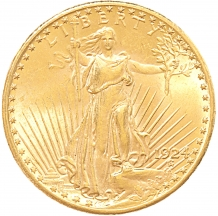 USA 20 Dollars saint-gaudens 1 ex.