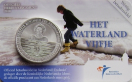 Waterland Vijfje 2010 Coincard