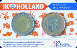 Holland Coin Card 2 Euro 2014 Coincard