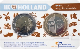Holland Coin Card 2 Euro 2015 Coincard