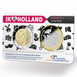 Holland Coin Card 2 Euro 2016 Coincard