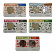 Holland Coin Cards zilver 2014-2018