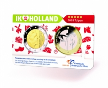 Holland Coin Card 2 euro 2018 Coincard