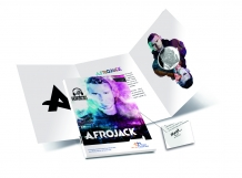 Afrojack \'holographic coin\' 2018