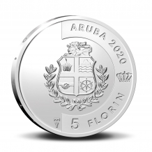 5 Florin 2020 Blenchi Aruba Proof