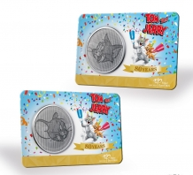 80 Jaar Tom & Jerry 2020 Coincard