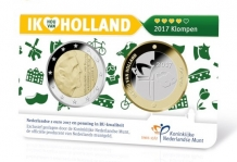 Holland Coin Card 2 Euro 2017 Coincard