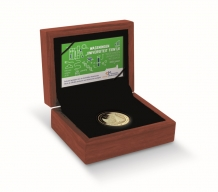 Wageningen Universiteit 10 euro goud 2018 herdenkingsmunt proof
